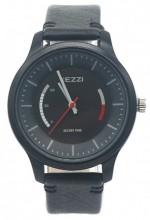 C-B20.3 K-1723A Quartz Watch with PU Strap 40mm Black