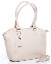 T-G5.1  BAG-788 Luxury Leather Bag 39x24x10cm Beige