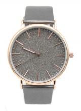 B-D19.4 WA422-001 Quartz Watch with Glitters 43mm Silver