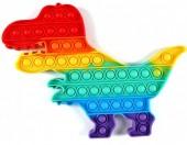 Z-E2.5 T2106-021 Pop It XXL Dino Rainbow 30x22cm