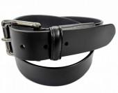 S-C4.1  M027 Leather Belt Black 3.5x105cmS-C4.1  M027 Leather Belt Black 3.5x105cm
