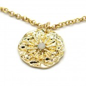 D-C20.4 N2019-026G Necklace Coin Gold
