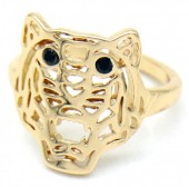 G-E5.5 R532-010G Adjustable Ring Tiger Gold