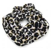 S-A7.3 H305-021 Velvet Scrunchie Animal Print
