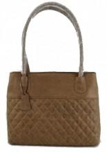 T-G6.3 BAG-1017 Luxury Leather Bag 40x27x11cm Brown