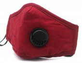 Y-A6.1  FM042-019B Face Mask with Room for Filter - Individually Packed - Red