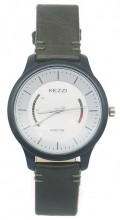 C-C6.1 K-1723A Quartz Watch with PU Strap 40mm Brown