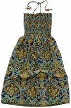 L-F7.2 Beach Dress with Beads Onze Size Fits All