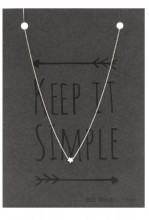 A-E20.5 SN104-019 Necklace 925 Sterling Silver with Star
