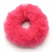 S-B3.4  H414-002B Fluffy Scrunchie Pink