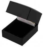 L-A5.1 Giftbox for Ring 37x51x37mm Black 10pcs