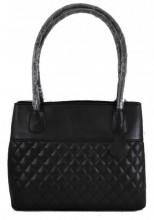 T-I6.2 BAG-1017 Luxury Leather Bag 40x27x11cm Black