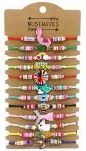 D-F15.1 B316-018 Bracelet Mix - 12pcs
