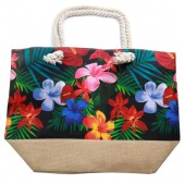 Y-C3.4 BAG528-001B Beach Bag Flowers