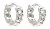 J-B10.4  SE104-584 925S Silver Earrings 10mm