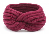 R-A7.2  H401-001H Knitted Headband Purple