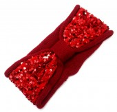 S-K2.2 H401-008C Headband with Sequins Red