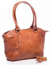 T-J2.2 BAG-788 Luxury Leather Bag 39x24x10cm Cognac