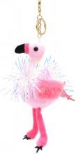 S-H4.4 KY2035-002B Keychain Flamingo with Glitters 18cm Pink S-H4.4 KY2035-002B Keychain Flamingo with Glitters 18cm Pink