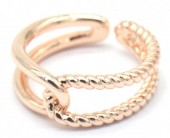 E-B4.3 R2019-002RG Metal Ring Adjustable Rose Gold