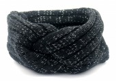 R-E8.1 H401-010A Knitted Headband Black
