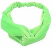 S-D1.4 H305-060A8 Velvet Headband Bright Green