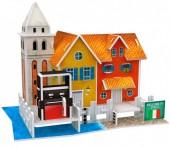 D-F24.1 W3114H 3D Puzzle Wharf Italy - 19pcs