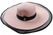 R-A3.1 HAT504-006D Hat with Anchor Pink