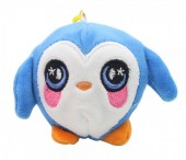 Z-F6.2 TOY308-002B Plush Squishy Penguin White-Blue S