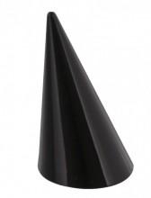 L-E3.1 Acrylic Ring Display 4x2.5cm Black