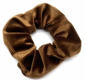 S-E2.4  H305-022 Srunchie Rib Fabric Brown
