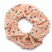 S-A5.1 H305-122A Scrunchie Flowers Pink