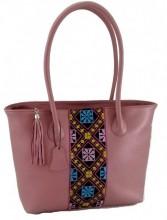 T-J6.2  BAG-899 Luxury Leather Bag 43x28x11cm Pink
