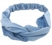S-B1.5  H305-060A5 Velvet Headband Blue