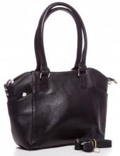 Q-C1.1  BAG-788 Luxury Leather Bag 39x24x10cm Black