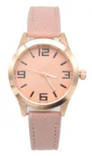B-A19.3 B442-002 Quartz Watch with PU Strap 32mm Pink