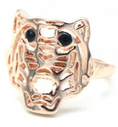 G-E6.3 R532-010R Adjustable Ring Tiger Rose Gold