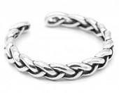 E-E20.5  SR104-143 925S Silver Ring Adjustable Chain