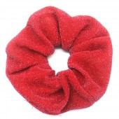 S-A1.3  H305-054 Scrunchie Glitters Red