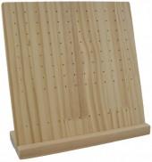 Z-C1.4 PK24-066 Wooden Earring Display 26x27x9cm