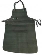 T-J7.3 Leather BBQ Apron 85x65cm Black