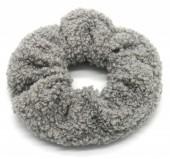 S-A3.2 H305-027A Scrunchie Teddy Grey