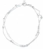 G-B8.1 B103-038 925 Sterling Silver Bracelet Layers