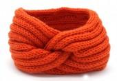 Q-K7.1 H401-001B Knitted Headband Orange