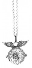 A-F5.4 Angel Catcher Necklace Silver 20mm