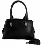T-L1.3 BAG-948 Luxury Leather Bag 40x21x10m Black
