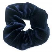 S-D7.2 H305-022 Srunchie Rib Fabric Blue