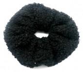 S-C8.4 H305-027E Scrunchie Teddy Black