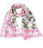 X-B5.2 S208-002 Scarf with Jungle Print 70x180cm