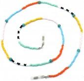 B-F10.2 GL692 GL750 Sunglass Chain Beads Multi